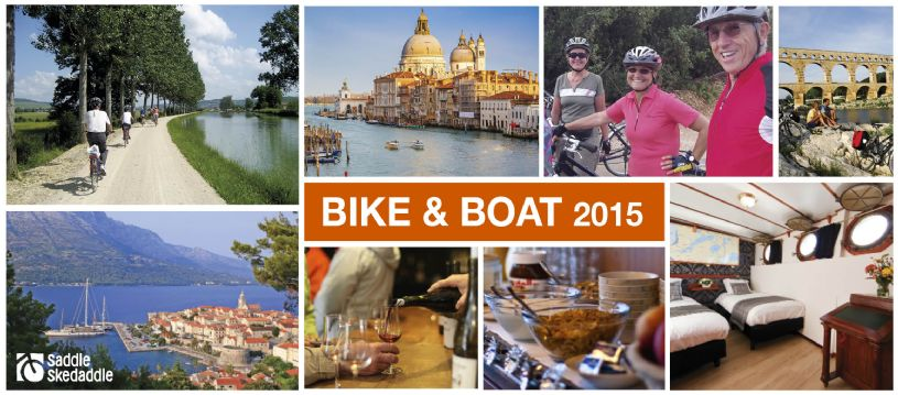 Do you dream of gliding merrily down a canal, watching the world go by? Maybe relaxing on a yacht in the open water is more your cup of tea? For lovers of water, we've got a great range of bike and boat options across Europe...